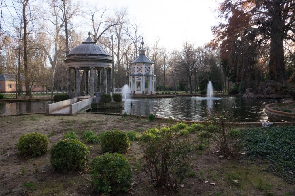 jardin chino Aranjuez