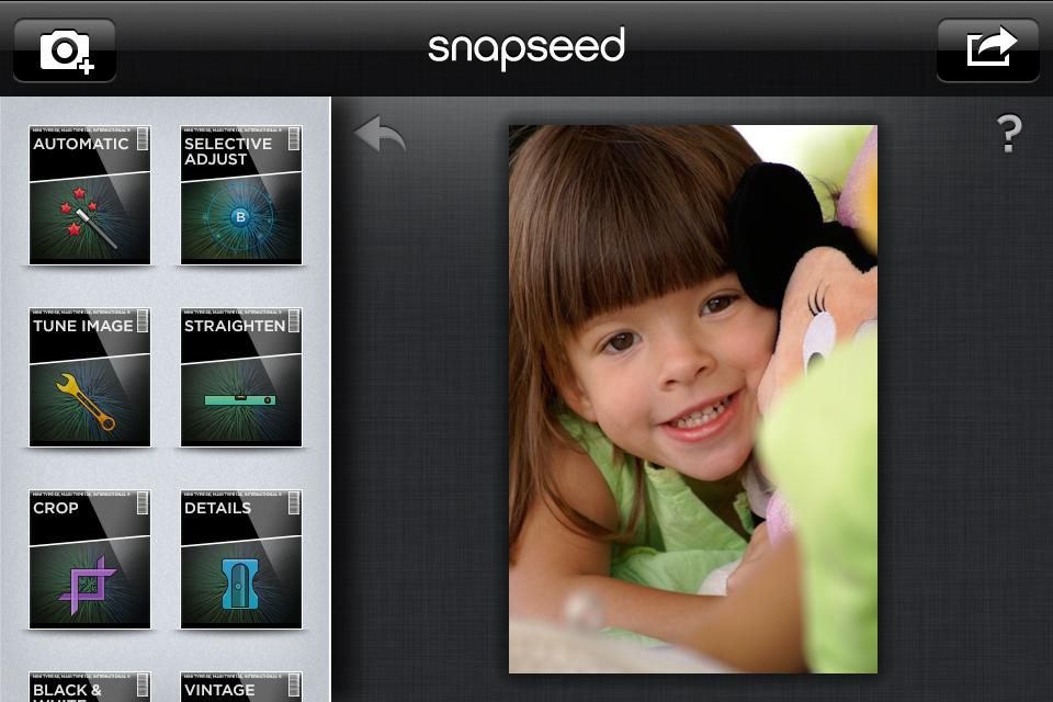 Snapseed: Posiblemente la mejor App de fotografía
