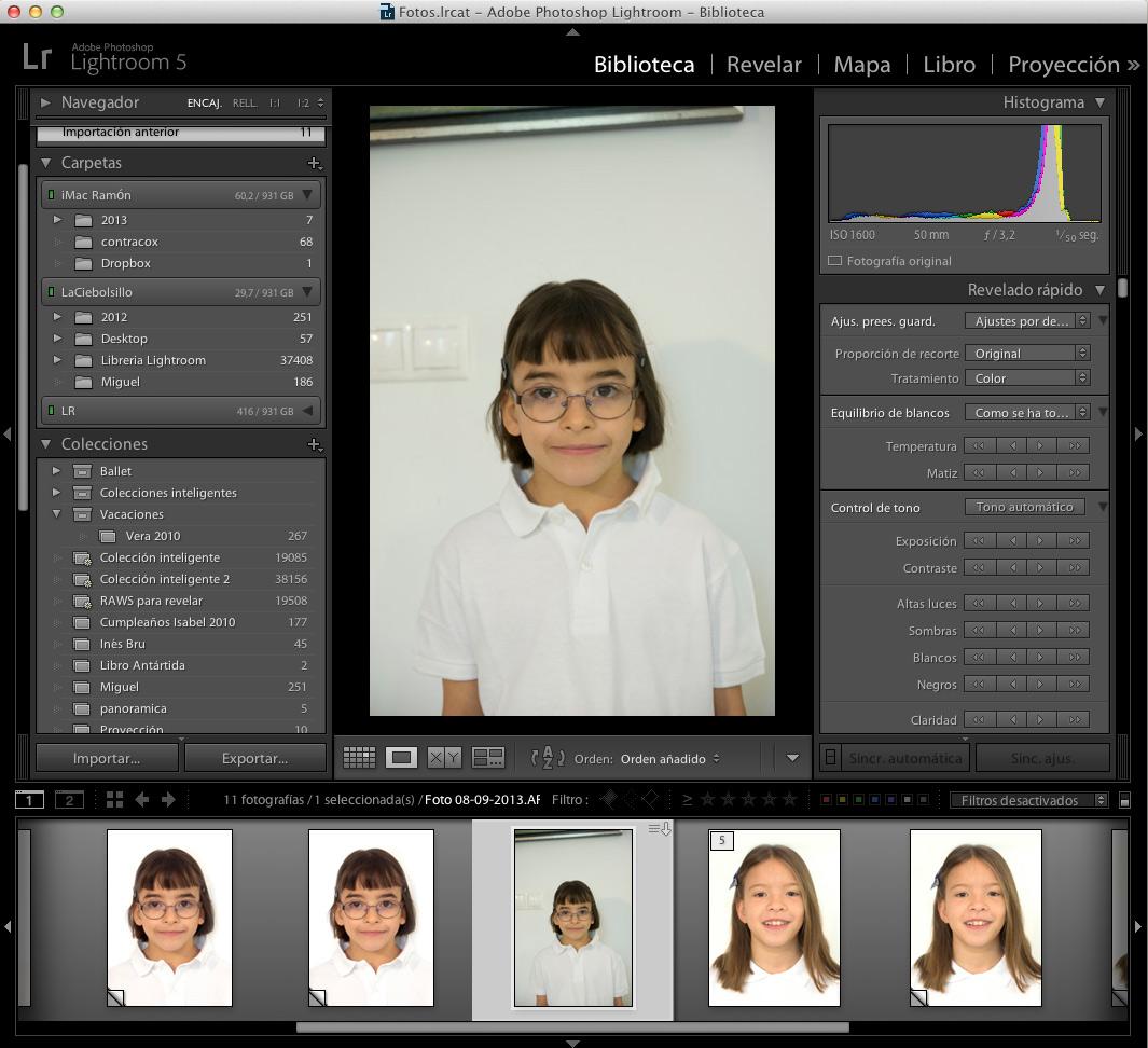 Fotografias De Carnet En Lightroom Fotofanaticos