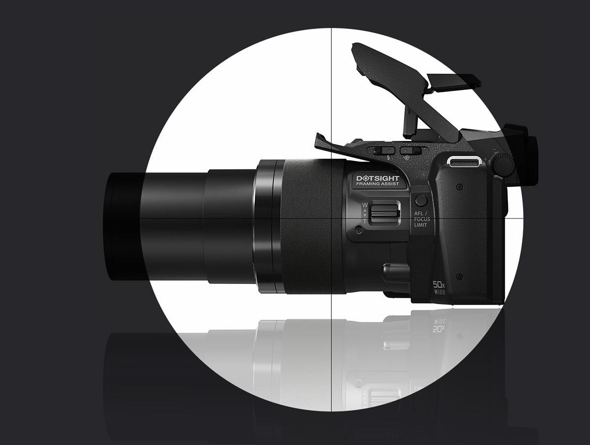 Nueva cámara con mira telescópica